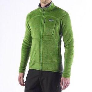 Patagonia R2 Fleece Jacket Fennel Green L